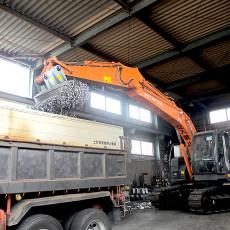 鉄・非鉄金属スクラップの回収、運搬
